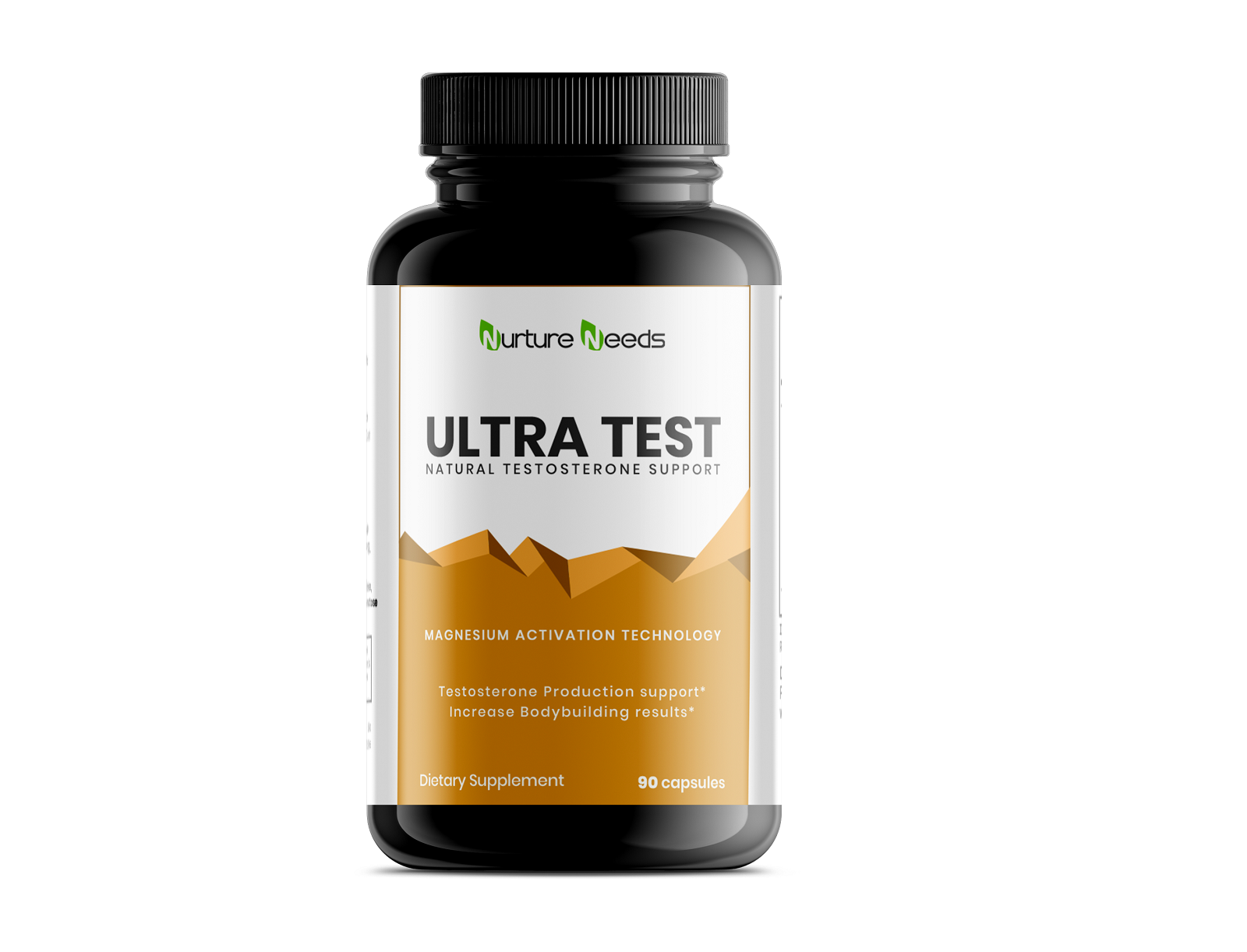 3D Ultra Test Natural Testosterone Support2